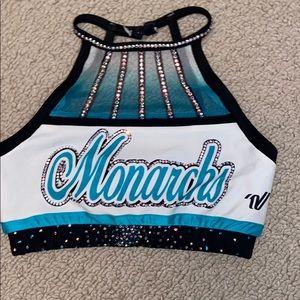 cheer extreme monarchs uniform top